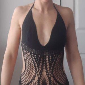BCBG Swim - Crochet Bathing suit-BCBG